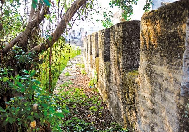 达濠古城墙修缮工程正式动工