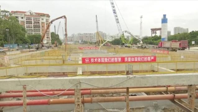 汕头海湾隧道工程加快推进