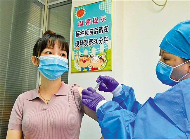 232名港澳同胞在汕接种新冠疫苗