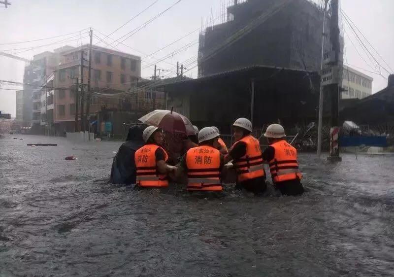 103个村居20余万人受灾,潮南区迅速开展防汛减灾工作