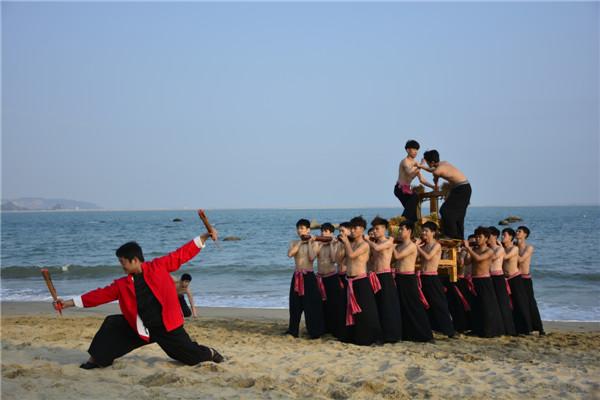 汕大舞蹈团节目《承福》将于端午节在CCTV-10播出!记得收看哟~